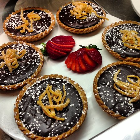 The Sage Cafe: Chocolate & orange tarts