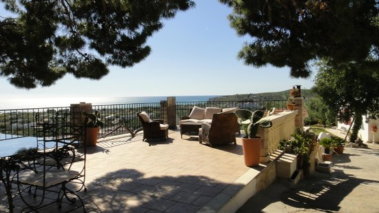 Residenza Collina Dei Pini : Relax and breakfast area