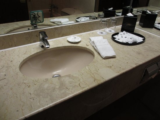 Metropark Park Hotel Kowloon: Bath room