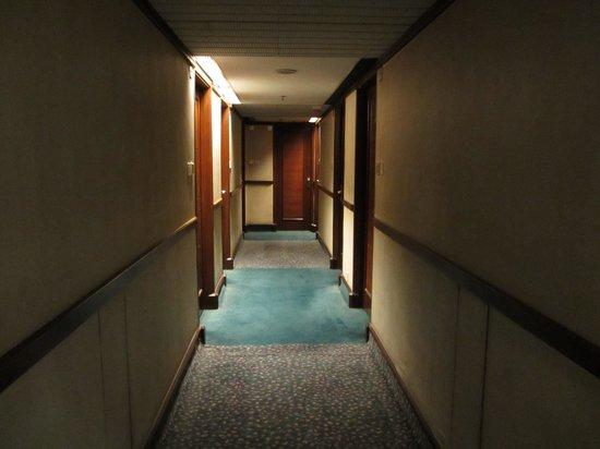 Metropark Hotel Kowloon: Corridor