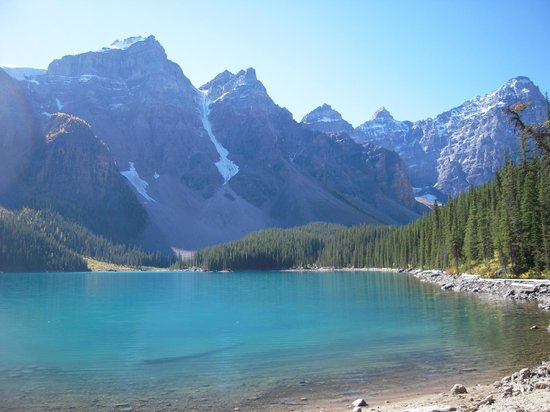 Banff Rocky Mountain Resort: Moraine Lake near Lake Louise