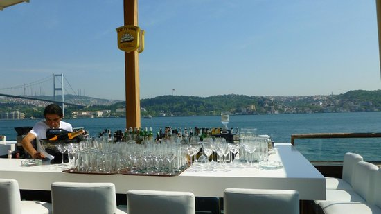 bosphorus view and cocktail bar