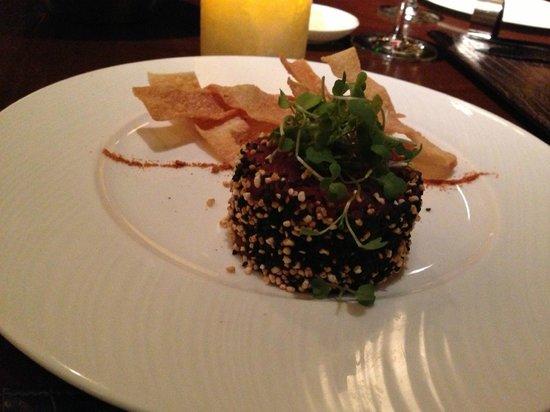 Flame Restaurant : Tuna Tartare