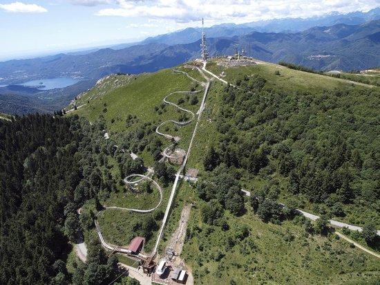 Stresa, Italy: Alpyland in tutto il suo sviluppo!