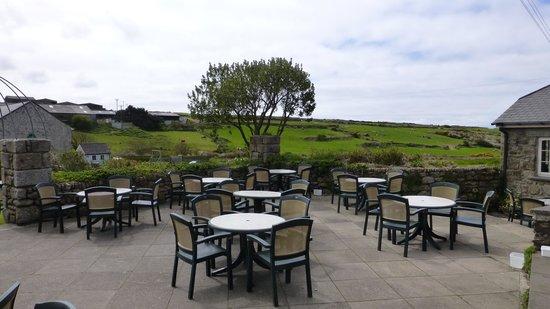 The Tinners Arms: Pub garden