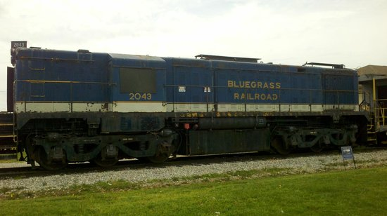 Bluegrass Scenic Railroad and Museum : Static display.