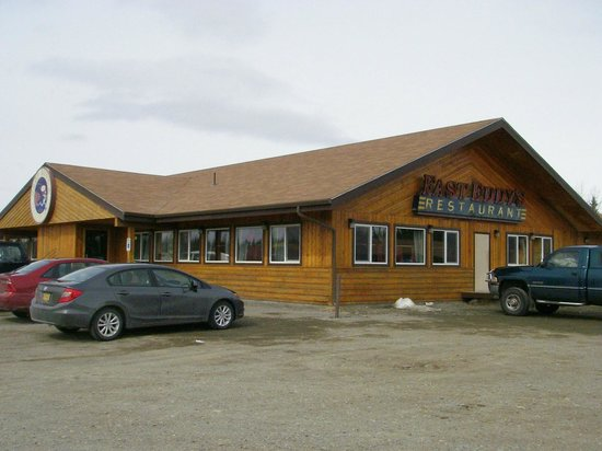 Fast Eddy's Restaurant : A view to a meal!