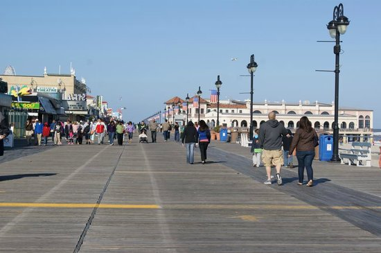 Board Walk at Ocean City
