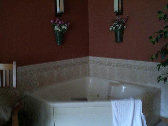 Inn at Lonesome Hollow: Jacuzzi tub in the room!