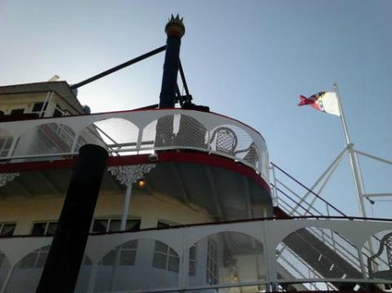 Harriot II Riverboat: The front