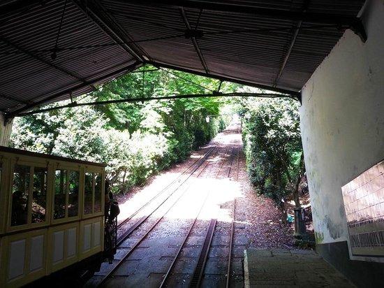 Elevador do Bom Jesus do Monte: Waiting for the ride
