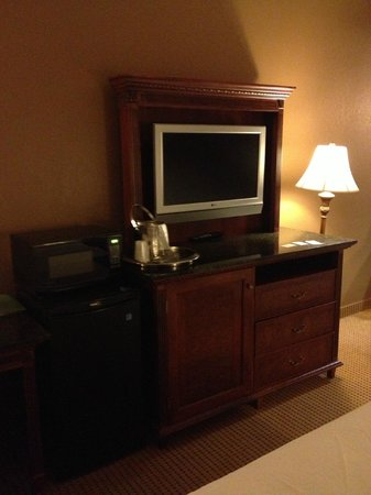 The Wildwood Hotel, BW Premier Collection: Bedroom - flat screen television