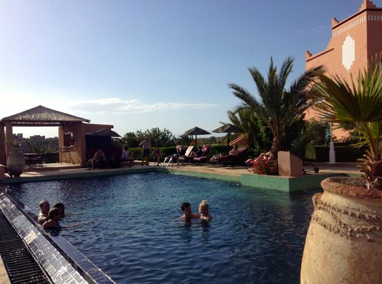 Les Tourmalines: refreshing pool...