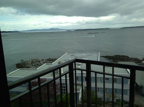 Oak Bay Beach Hotel: View