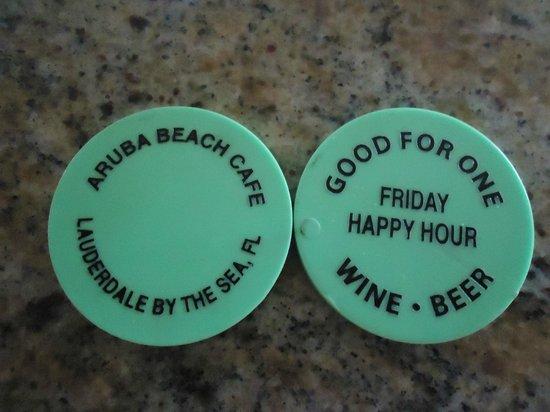 Aruba Beach Cafe Gotta Love Happy Hour Fridays They Offer Complimentary Pig