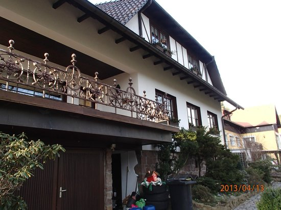 Hotel Tannenspitze: Front of the hotel