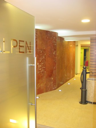Hotel Alpenland: Spa Area