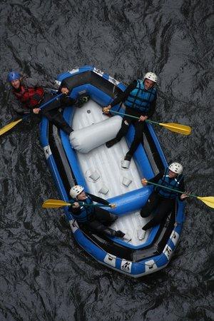 Les Terres Blanches : Descente en rafting