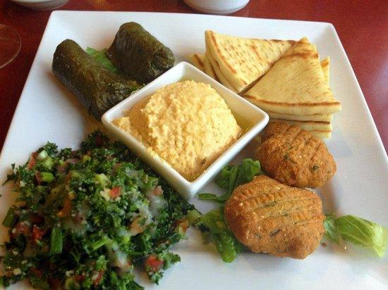Julian's Mediterranean: Vegan Platter