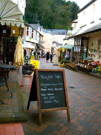 The Village Inn: Always maintain your sense of humour...