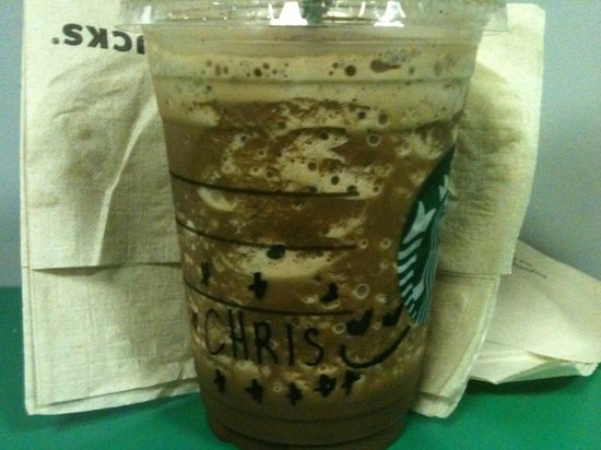 Starbucks : Baristas make you feel special.