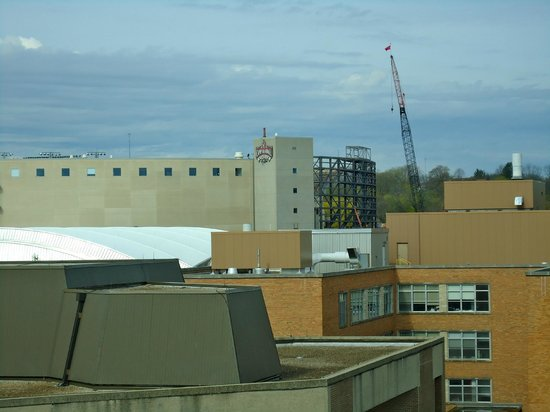 Wisconsin Union Hotel: View of Camp Randall Stadium from Room