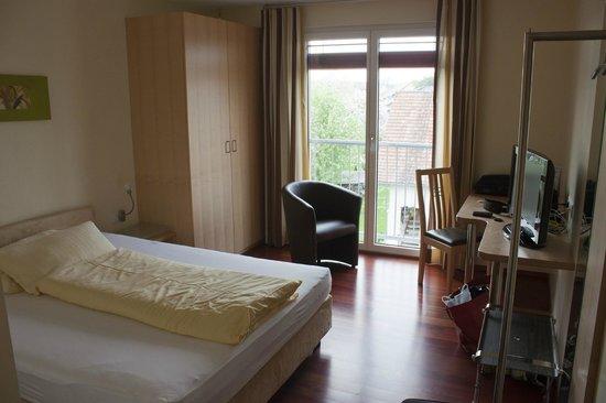 Das smarte Hotel garni: Zimmer