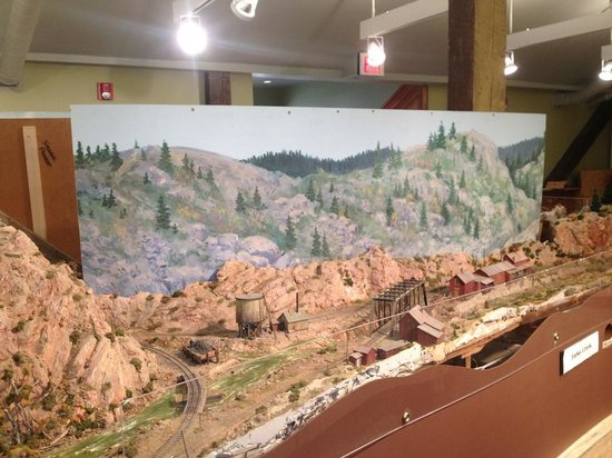 Cheyenne Depot Museum: Working Model of Railroad Under Construction