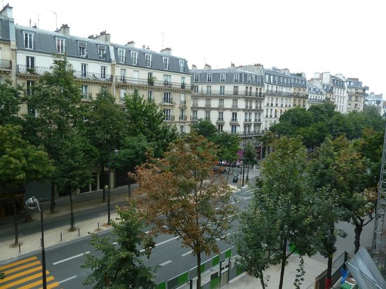 Hotel Le Royal: View from room