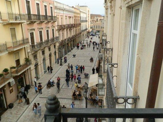 Hotel Medici : La rue Medici, lieu de vie