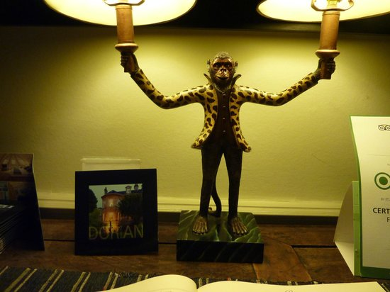 Dorian House Monkey Lamp