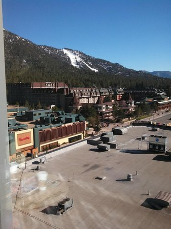 Harveys Lake Tahoe: View from 9th Floor- Heavenly Gondola