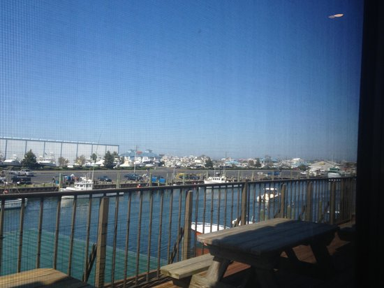 Ocean City Fish Company: The view