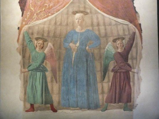 Museo Madonna del Parto: La Madonna del Parto