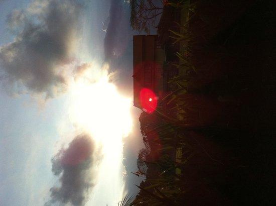 Nyoman Karsa Bungalows: Sunset view