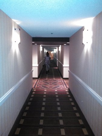 Harveys Lake Tahoe: Hallway- Going for ice