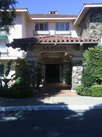 La Playa Carmel entrance
