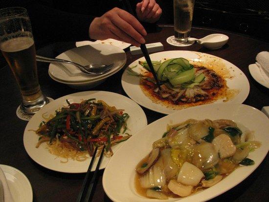 The Westin Miyako Kyoto: shishen 10000yen meal