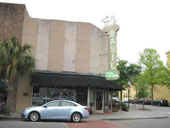 Basil Restaurant exterior