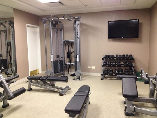 Chicago Marriott Naperville: Weight room