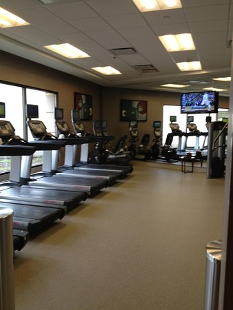 Chicago Marriott Naperville: Cardio room