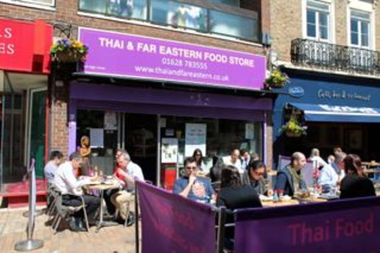 Thai & Far Eastern Foods: Seating Outside and Inside or Takeaway