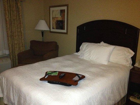 Hampton Inn & Suites Edmonton International Airport: Wonderful comfy bed