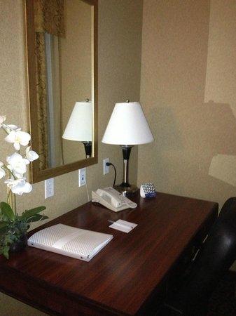 Hampton Inn & Suites Edmonton International Airport: desk