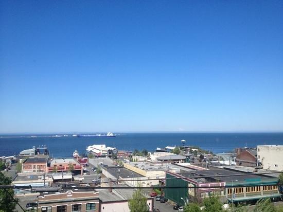 Port Angeles Inn: view from 3 rd floor