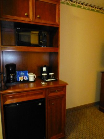 Hilton Garden Inn Orlando East/UCF Area: Fridge, coffee, microwave