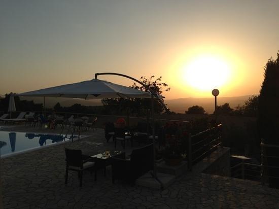 Olympion Asty: Pool & Sunset