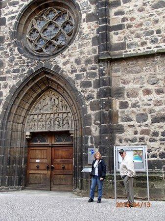 Stadtkirche: Church door