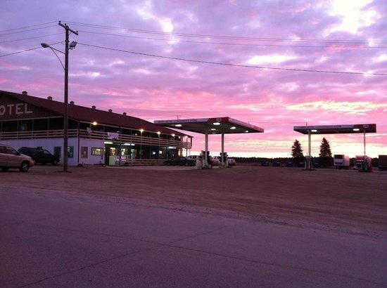 The 59er Motel: Sunrise at 59er