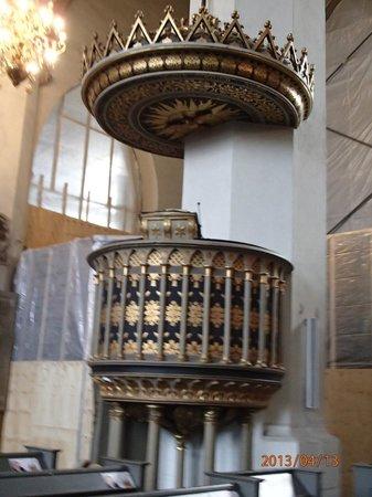 Stadtkirche: pulpit